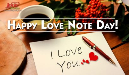 Happy Love Note Day!