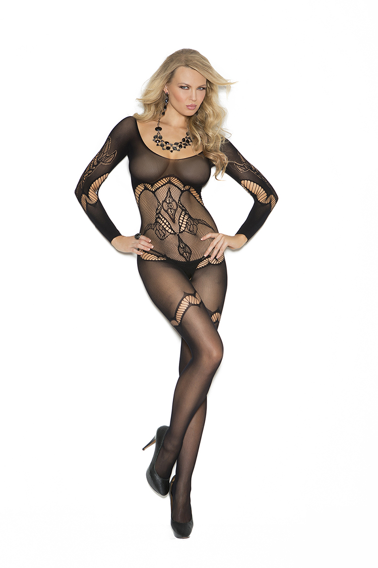 Crochet Bodystocking W/Design